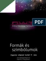 Online Webdesign Tanfolyam Alapozó leckék 4. rész - Szimbólumok