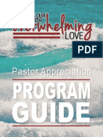 Pastor Appreciation Program Guide 2012