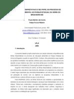 AS TRILHAS INTERPRETATIVAS E SEU PAPEL NO PROCESSO DE EDUCAÇÃO AMBIENTAL NO PARQUE ESTADUAL DA SERRA DO BRIGADEIRO-MG
