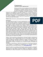 Intervención y Cambio Organizacional