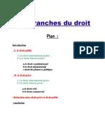 Les Branches Du Droit Final