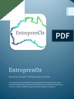 EntreprenOz - Dossier de sponsoring