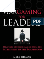 Wargaming for Leaders