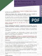 Evangelio Dominical 1er Domingo de Adviento (02-12-2012)