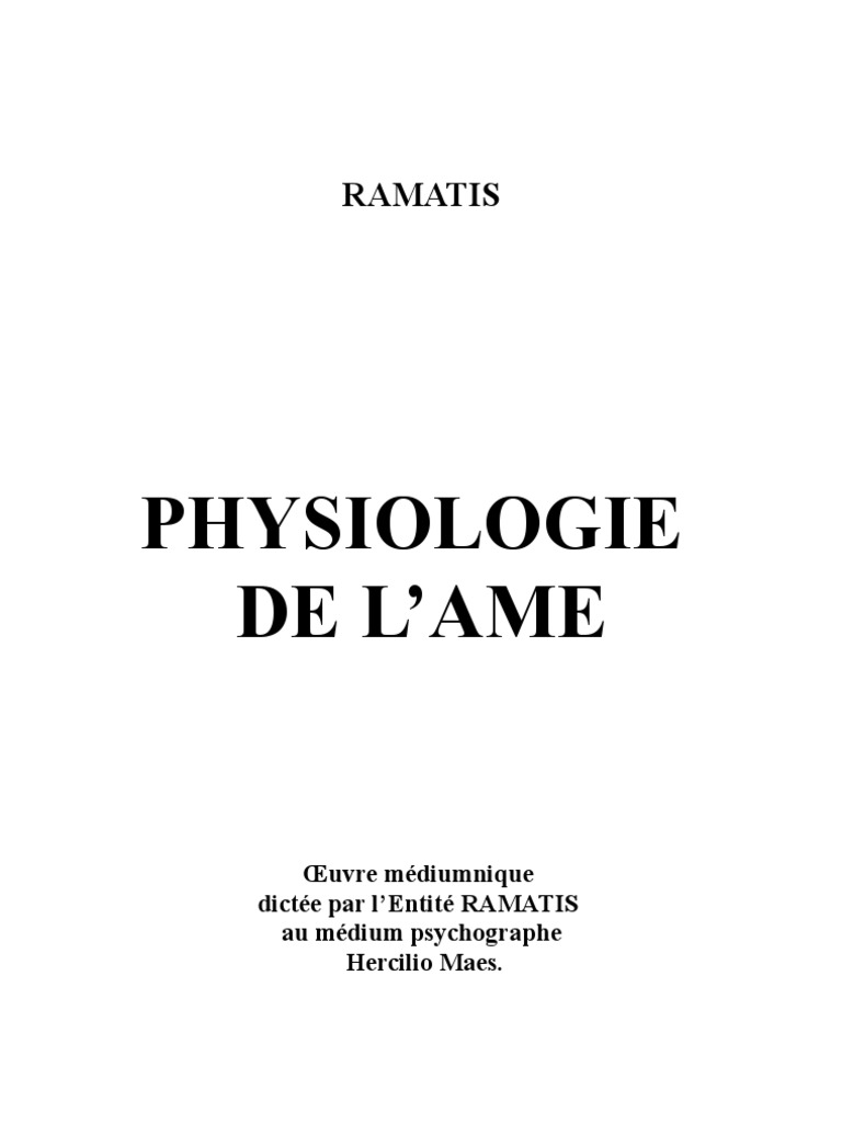 f06c7655906463 Medecine Physiologie de l Ame Ramatis