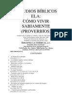 ESTUDIOS BÍBLICOS ELA PROBERVIOS
