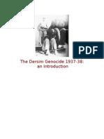 The Dersim Genocide 1937-38
