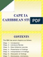 CAPE Caribbean Studies IA Guide