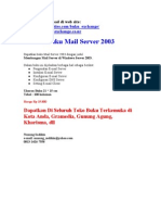 Bukumail Server 2003