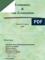 Economics and Economists