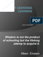 Student Centered Leaning