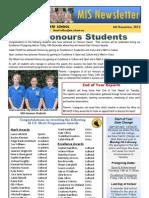 Newsletter 06.12.12