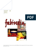 A Marketing Project on FabIndia