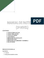 MANUAL de Pasteleria