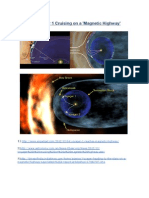 Interstellar cloud and Solar System - Voyager NASA