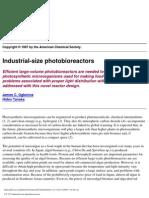 Industrial Size Photo Bio Reactors
