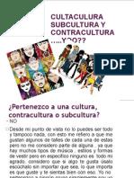 Cultaculura Subcultura y Contracultura