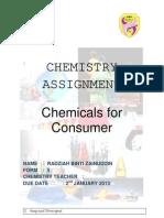Chemistry Folio f5