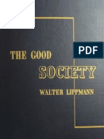 88340610 the Good Society Walter Lippmann