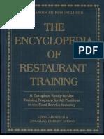 The Encyclopedia of Restaurant Training