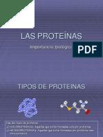 Clase 3 Proteinas