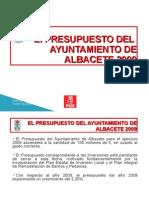 Presentacion PSOE Presupuestos 2009