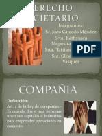 Definicion de Sociedad y Compañia