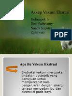 Pt Askep Vakum Ekstrasi