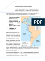 RUTAS COMERCIALES DE ESPAÑA Y AMERICA