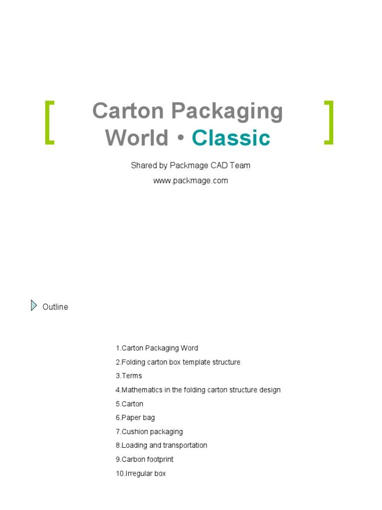 Cartonpackagingworldv10pdf paperboard packaging and labeling maxwellsz