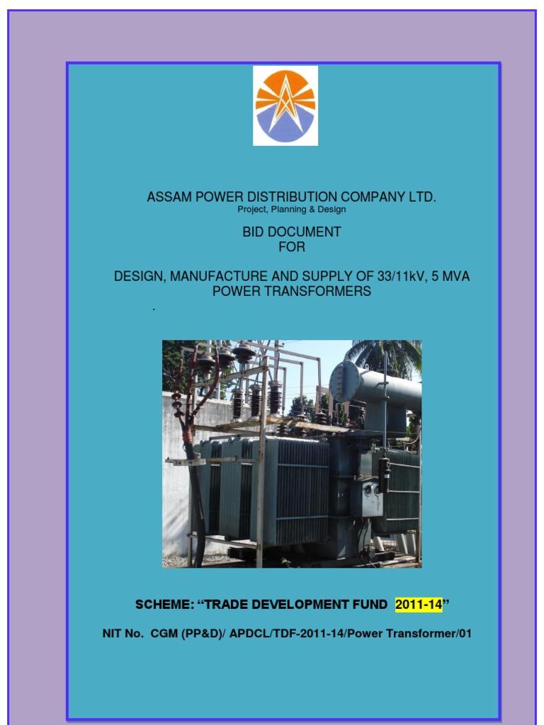 Power Transformer Specs | Insulator (Electricity) | Transformer