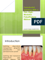 Periodontal Splinting With A