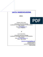 p110_Data Warehousing Technology