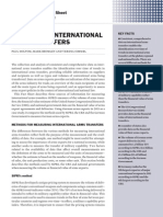 Measuring international arms transfers