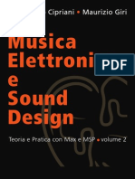 Musica Elettronica e Sound Design Vol. II