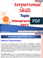 Interpersonal Skills Part 2