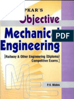 Objective Mechanical Engineering