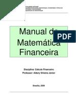 Manual de Calculo Financeiro - Aulas e Listas de Exercicios Versao 2009