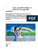 Parallel Lives, Parallel States a New Solution to Our Age-old Conf