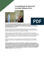 Evreii români-Shimon Peres