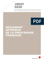 Reglement interieur CRF 2012
