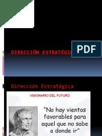 Dirección estrategica Vision Mision