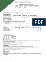 Formular Standard Natura 2000 - Sci-uri