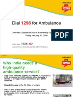 Dial 1298 for Ambulance - HSBC PPT