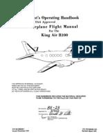 King Air b100 Poh