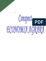 Conspect Econ Agrara