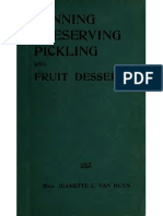 Canning Preserving and Pickling 1914
