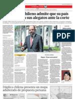 El canciller chileno admite que su país hará ajustes a sus alegatos ante la corte