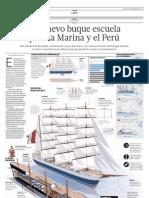 Un nuevo buque escuela para la Marina y el Perú