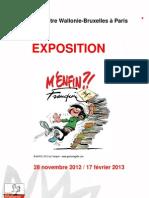Dossier de Prensa Exposición Franquin en París